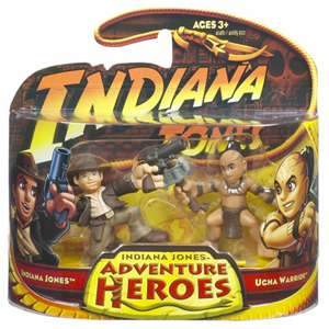 Indiana Jones Adventure Heroes - Indiana Jones Vs Ugha Warrior