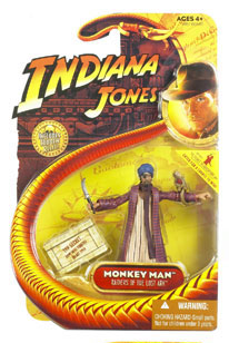 Indiana Jones - Monkey Man with Monkey