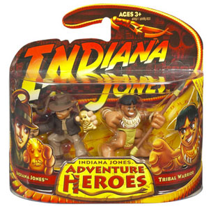 Indiana Jones Adventure Heroes - Indiana Jones and Tribal Warrior