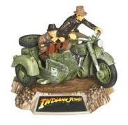 Indiana Jones Titanium - Indiana and Henry Jones on German Motorcycle