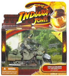 Indiana Jones Deluxe - German with Motorcycle