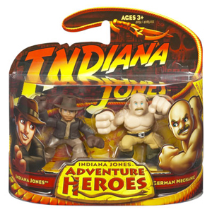 Indiana Jones Adventure Heroes - Indiana Jones Vs German Mechanic