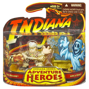 Indiana Jones Adventure Heroes - Rene Belloq with Ark and Ghost