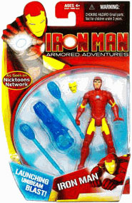 Armored Adventures - Iron Man Launching Unibeam Blast!
