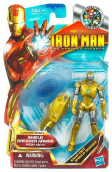 Iron Man The Armored Avenger - Concept Series Shield Breaker Armor Iron Man