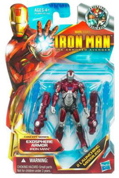 Iron Man The Armored Avenger - Concept Series Exosphere Armor Iron Man