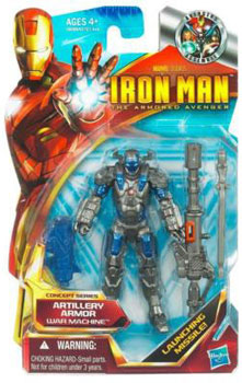 Iron Man The Armored Avenger - Concept Series Artillery Armor War Machine