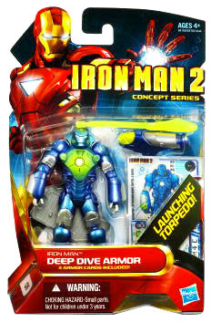 Iron Man 2 - Concept Deep Dive Armor Iron Man