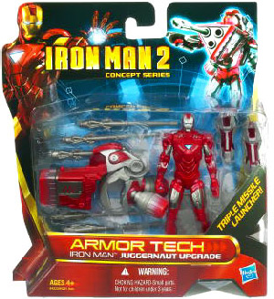 Iron Man 2 - Concept Series - Armor Tech - Iron Man Juggernaut Upgrade