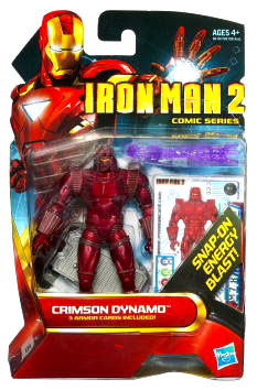 Iron Man 2 - Comic Series - Crimson Dynamo - 25