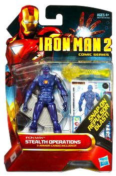 Iron Man 2 - Comic Series - Stealth Operations Iron Man - 24