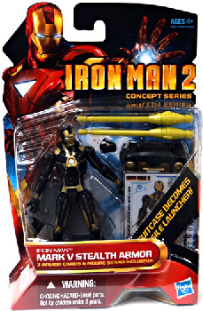 Iron Man 2 - Concept Series - Mark V Stealth Armor