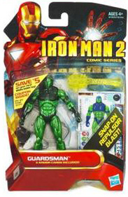 Iron Man 2 - Comic Series - Guardsman