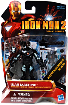 Iron Man 2 - Comic Series - War Machine [Cyborg]