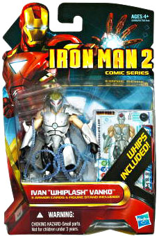 Iron Man 2 - Comic Series - Ivan Whiplash Vanko [Armored Final Battle]