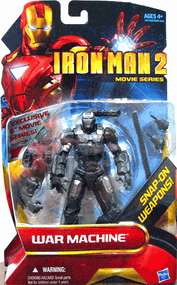 Iron Man 2 - Movie Series - 6-inch Exclusive War Machine