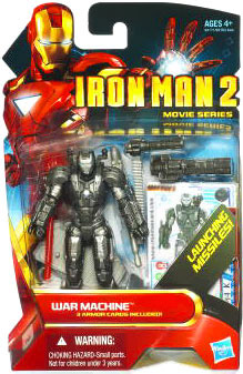 Iron Man 2 - Movie Series - War Machine with Launching Missles