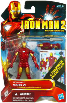 Iron Man 2 - Movie Series - Iron Man Mark VI - 2 Powerful Projectiles