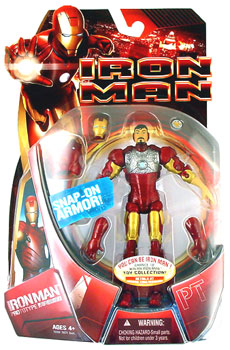 Iron Man Prototype - Snap-On Armor - Damage Package