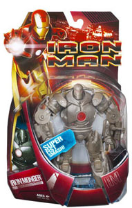 Iron Monger with Super Fist Smash (Red Chest)