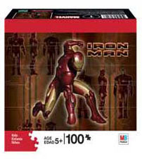 Iron Man 100-Piece Puzzle Posing