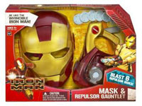 Iron Man Mask and Repulsor Gauntlet Set
