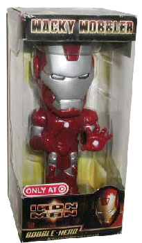 Wacky Wobbler - Iron Man Silver Centurion Exclusive