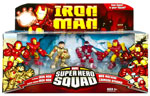 Iron Man Super Hero Squad: Desert Face Off 4-Pack