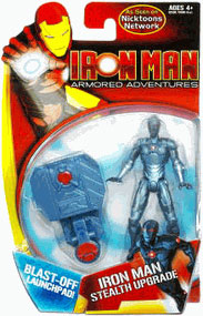 Armored Adventures - Iron Man Stealth Upgrade Blast-Off Launchpad