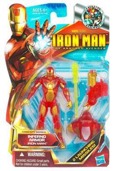 Iron Man The Armored Avenger - Concept Series Inferno Armor Iron Man