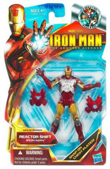 Iron Man The Armored Avenger - Movie Series Reactor Shift Iron Man