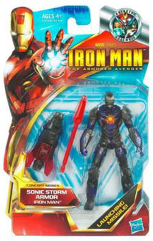 Iron Man The Armored Avenger - Concept Series Sonic Storm Armor Iron Man