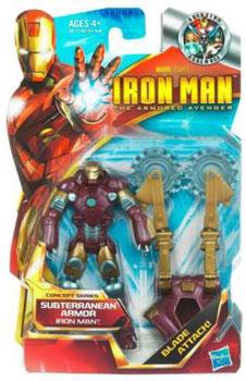 Iron Man The Armored Avenger - Concept Series Subterranean Armor  Iron Man