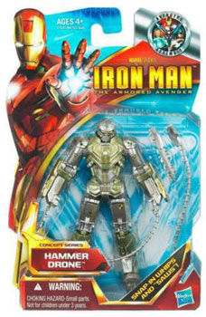 Iron Man The Armored Avenger - Concept Series Hammer Drone