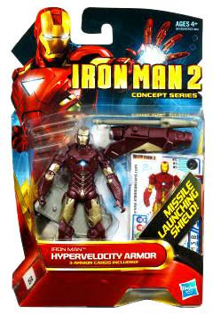Iron Man 2 - Concept Hypervelocity Armor Iron Man