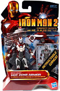 Iron Man 2 - Concept Series - Hot Zone Armor Iron Man