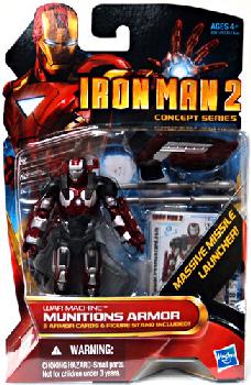 Iron Man 2 - Concept Series - War Machine Munitions Armor