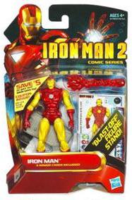 Iron Man 2 - Comic Series - Classic Armor Iron Man [Blast Off Figure Stand]