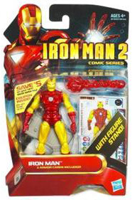 Iron Man 2 - Comic Series - Winged Classic Iron Man - 28