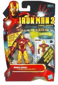 Iron Man 2 - Comic Series - Iron Man [Snap On Repulsor Blast]
