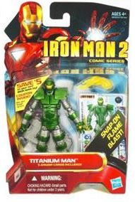 Iron Man 2 - Comic Series - Titanium Man