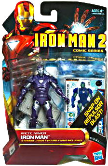 Iron Man 2 - Comic Series - Arctic Armor Iron Man