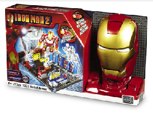 Iron Man 2 Mega Bloks - Hall Of Armor