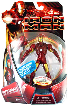 Iron Man Mark III - Launching Repulsor Blast