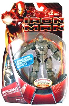 Iron Man Mark I - Launching Flamethrower Blast