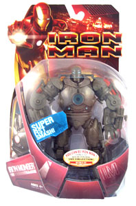 Iron Monger with Super Fist Smash (Blue Chest)