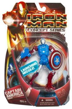 Captain America Armor Iron Man
