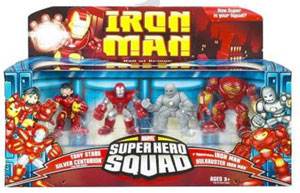 Iron Man Super Hero Squad: Hall of Armor 4-Pack