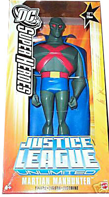 10-Inch DC Super Heroes: Martian Manhunter