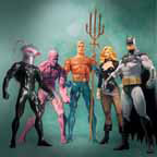 Justice League Alex Ross Series 2 set of 5